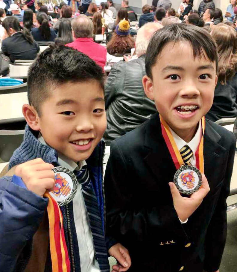 Two brand new Congressers nab some medals at their very first tournament!